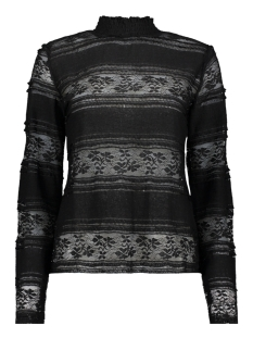Vero Moda T-shirt VMTHEA L/S LACE TOP FD18 10214947 Black