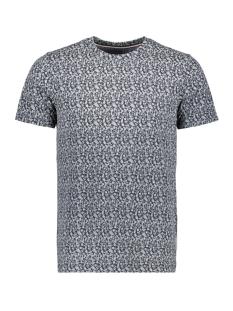 Produkt T-shirt PKTGMS ALSO AOP TEE SS 12149673 Navy Blazer/Melange
