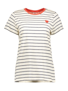 Saint Tropez T-shirt T1538 STRIPED T-SHIRT 9330