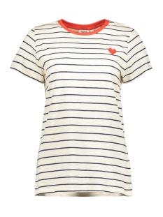 Saint Tropez T-shirt T1538 STRIPED T-SHIRT 9330