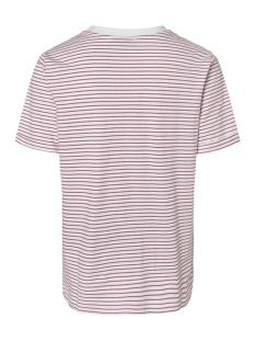 pcria ss fold up tee noos 17093747 pieces t-shirt bright white/malaga