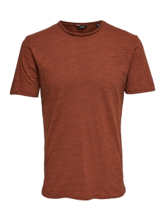 Only & Sons T-shirt onsALBERT NEW SS TEE NOOS 22005108 Rooibos Tea