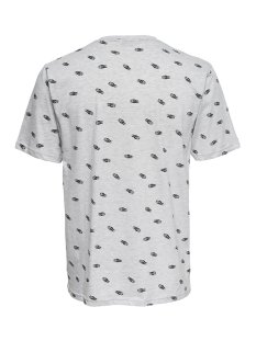onseddie aop ss reg tee 22011842 only & sons t-shirt white