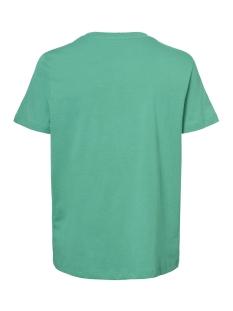 vmvoyange olly ss top ga 10210572 vero moda t-shirt holly green