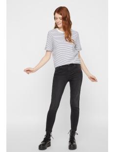 pcria ss fold up tee noos 17093747 pieces t-shirt bright white/ maritime b