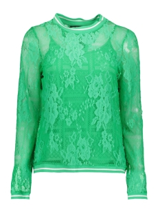 Vero Moda T-shirt VMBINE L/S MIDI TOP JRS 10211738 Holly Green