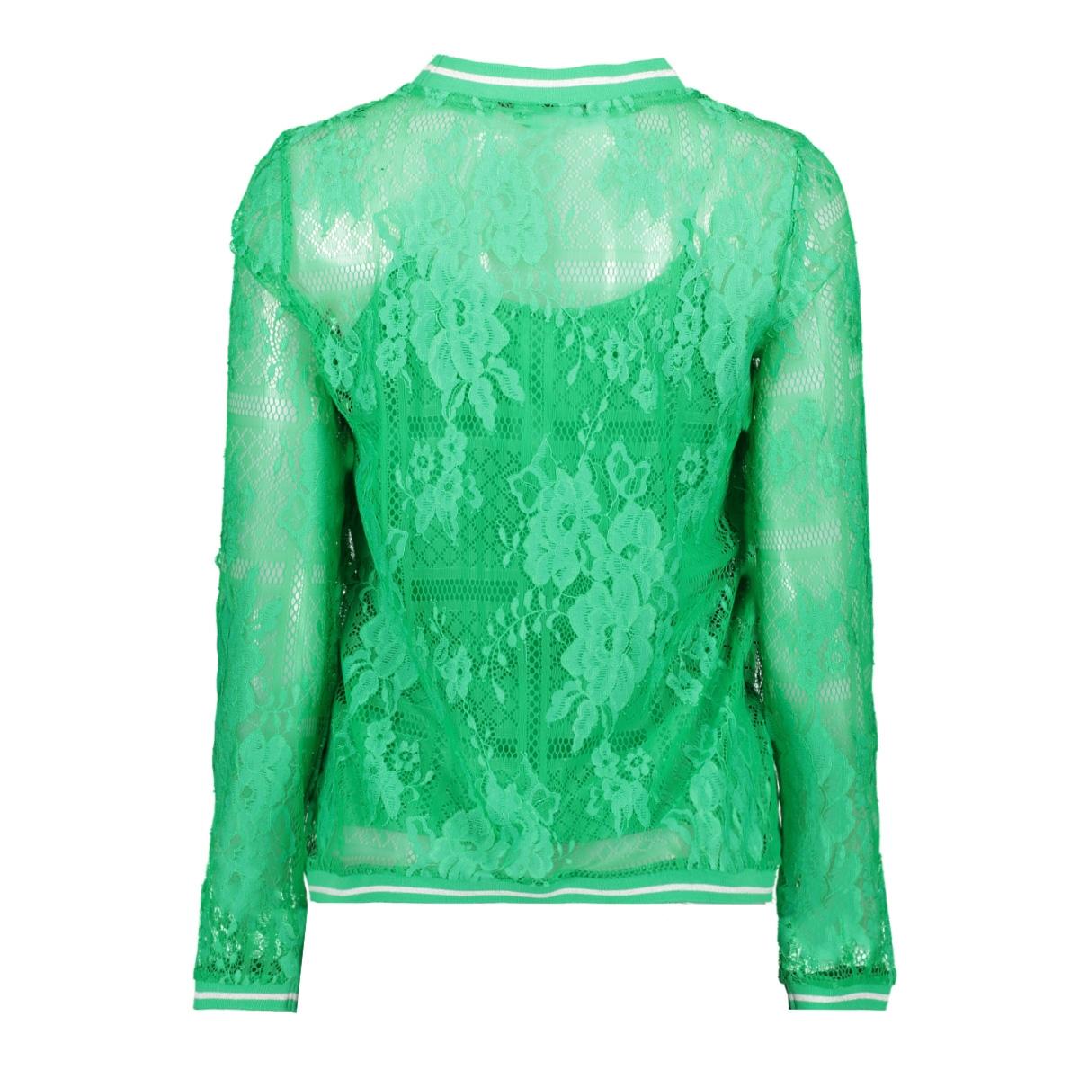 vmbine l/s midi top jrs 10211738 vero moda t-shirt holly green