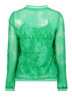 vmbine l/s midi top jrs 10211738 vero moda t-shirt holly green