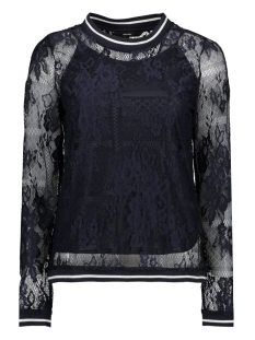 Vero Moda T-shirt VMBINE L/S MIDI TOP JRS 10211738 Night Sky