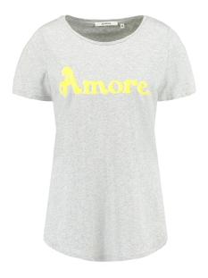 Garcia T-shirt A90001 66 Grey Melee