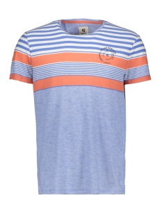 Garcia T-shirt A91007 2711 Blue Sea
