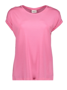 Vero Moda T-shirt VMAVA PLAIN SS TOP GA COLOR 10195724 Pink Carnation