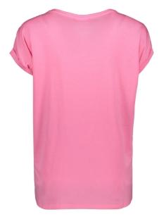 vmava plain ss top ga color 10195724 vero moda t-shirt pink carnation