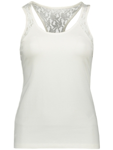 Vero Moda Top VMMAXI MY SOFT LACE BOXER TOP COLOR 10208577 Snow White
