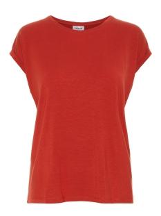 Vero Moda T-shirt VMAVA PLAIN SS TOP GA NOOS 10187159 Chinese Red