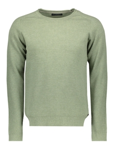 Jack & Jones Trui JPRHARDY KNIT CREW NECK 12146680 Duck Green/ Melange