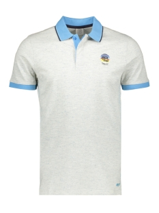 Jack & Jones Polo JORSTYSTA POLO SS 12149627 White Melange/SLIM