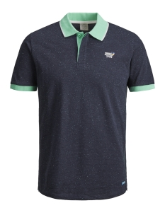Jack & Jones Polo JORSTYSTA POLO SS 12149627 Total Eclipse/SLIM