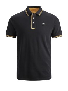 Jack & Jones Polo JCOCHALLENGE POLO SS NOOS 12145116 Black/REG