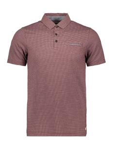 Jack & Jones Polo JPROSCAR BLU  POLO SS 12149727 Chocolate Truff/SLIM FIT