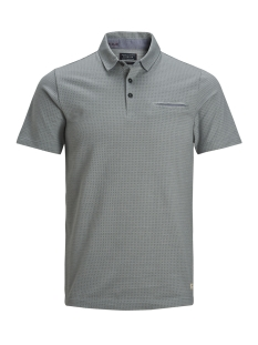 Jack & Jones Polo JPROSCAR BLU  POLO SS 12149727 Sedona Sage/SLIM FIT