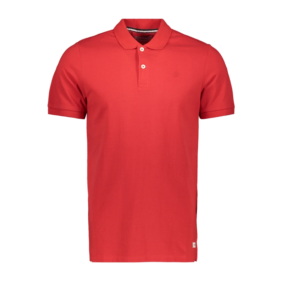 pktgms emb polo s/s 12139201 produkt polo true red