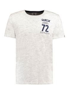 Garcia T-shirt B91205 625 White Melee