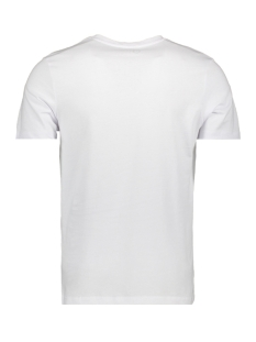 jcobooster  tee ss  crew neck feb 1 12160595 jack & jones t-shirt white/slim
