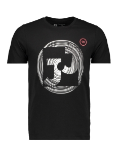 Jack & Jones T-shirt JCOBOOSTER  TEE SS  CREW NECK FEB 1 12160595 Black/SLIM