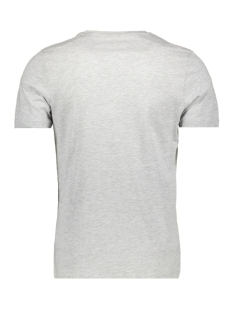 jcobooster  tee ss  crew neck feb 1 12160595 jack & jones t-shirt light grey/mela/slim