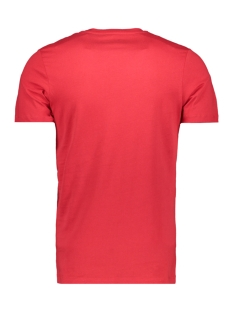 jcobooster  tee ss  crew neck feb 1 12160595 jack & jones t-shirt tango red/slim