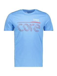 Jack & Jones T-shirt JCOBOOSTER  TEE SS  CREW NECK FEB 1 12160595 Azure Blue/SLIM
