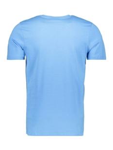 jcobooster  tee ss  crew neck feb 1 12160595 jack & jones t-shirt azure blue/slim