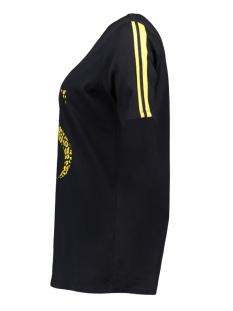 printed t-shirt sr1929 zoso t-shirt navy/yellow