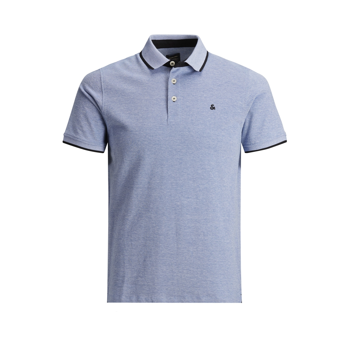 jjepaulos polo ss noos 12136668 jack & jones polo bright cobalt/slim fit