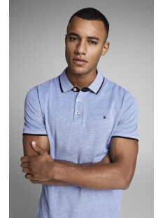 Jack & Jones Polo JJEPAULOS POLO SS NOOS 12136668 Bright Cobalt/SLIM FIT