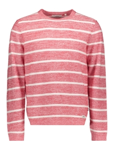 pkthnn nicolai crew neck knit 12146550 produkt trui true red