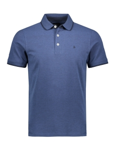 Jack & Jones Polo JJEPAULOS POLO SS NOOS 12136668 True Navy/SLIM FIT