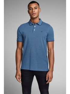 jjepaulos polo ss noos 12136668 jack & jones polo true navy/slim fit