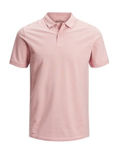 Jack & Jones Polo JJEBASIC POLO SS NOOS 12136516 Misty Rose/SLIM FIT