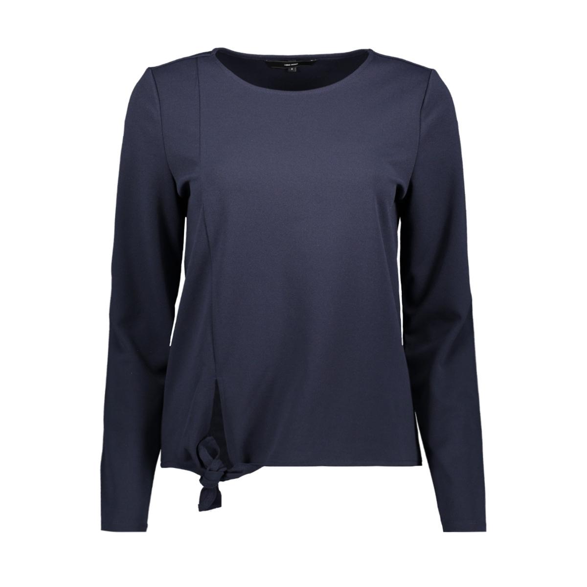 vmbettina l/s midi top jrs 10211975 vero moda t-shirt night sky
