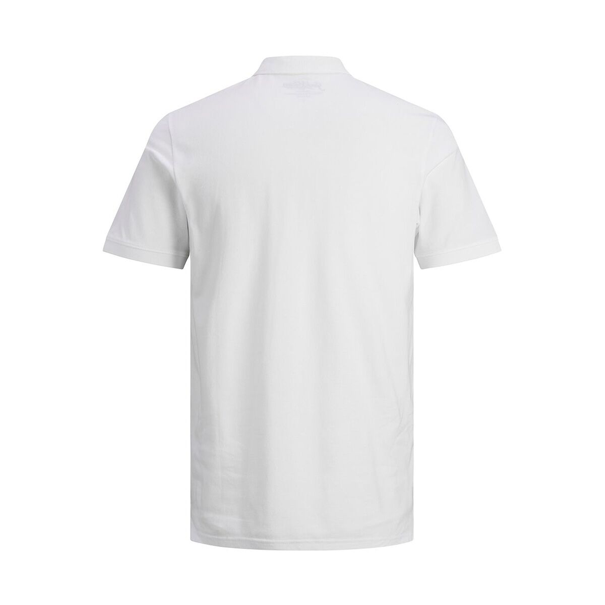 jjebasic polo ss noos 12136516 jack & jones polo white/slim fit