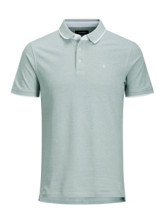Jack & Jones Polo JJEPAULOS POLO SS NOOS 12136668 Lily Pad/SLIM FIT