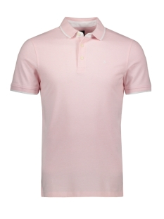 Jack & Jones Polo JJEPAULOS POLO SS NOOS 12136668 Coral Blush/SLIM FIT