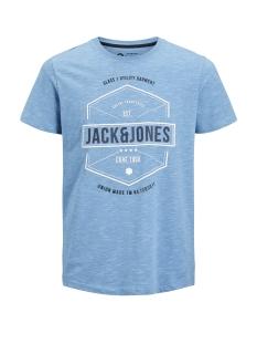 Jack & Jones T-shirt JCOFRESCO TEE SS CREW NECK 12148529 Azure Blue/ SLIM