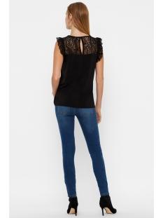 vmalberta sweetheart lace s/l top noos 10196238 vero moda top black