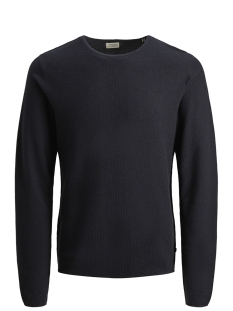 Jack & Jones Trui JJERON KNIT CREW NECK STS 12148034 Navy Blazer