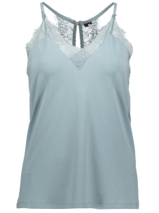 Vero Moda Top VMMILLA S/L LACE TOP NOOS 10185863 Smoke Blue