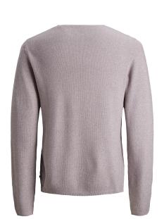 jjeron knit crew neck sts 12148034 jack & jones trui toadstool