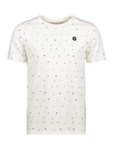 Jack & Jones T-shirt JORCRUSOE TEE SS CREW NECK 12147512 Cloud Dancer/SLIM